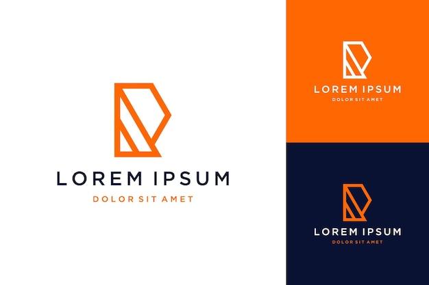 Uniek ontwerp logo of monogram of initialen r