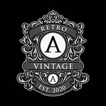 Uniek vintage labellogo