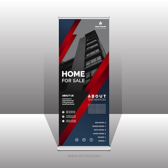 Unieke roll-up banner