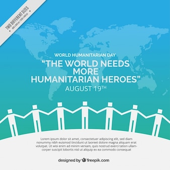 United mensen humanitaire achtergrond