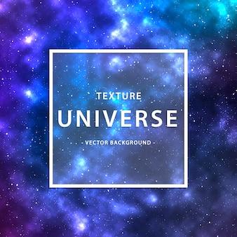 Universe textuur vector achtergrond