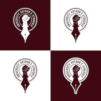 Universitair author's logo