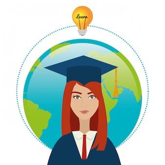 Universitaire studenten afstuderen