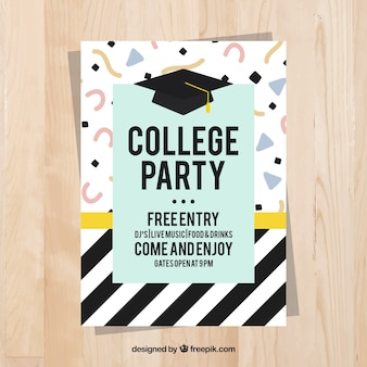 University festival memphis poster