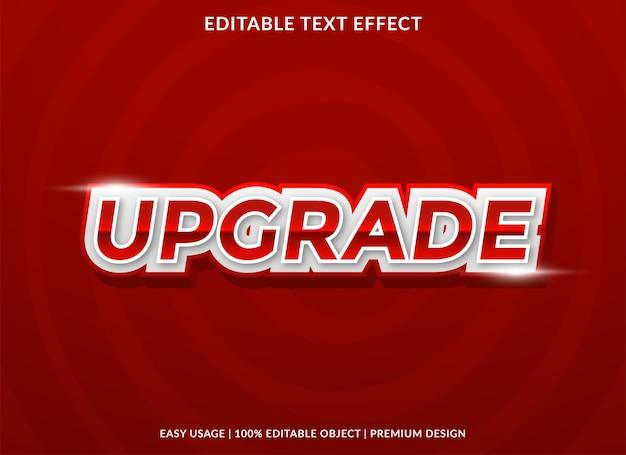 Upgrade teksteffectsjabloon