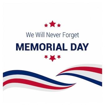 Usa creatieve memorial day background