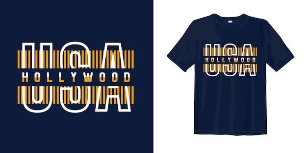 Usa hollywood t-shirt
