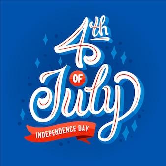 Usa onafhankelijkheidsdag belettering