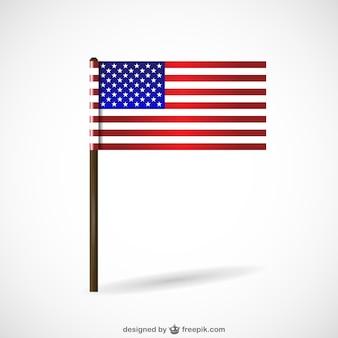Usa vlag vrije vector ontwerp