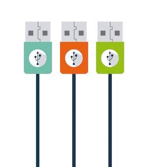 Usb-verbinding ontwerp