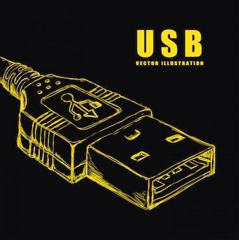 Usb-verbinding