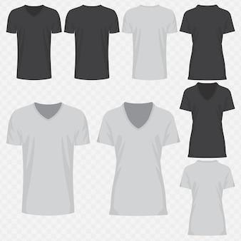 V-hals t-shirt design