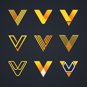 V-logo collectie