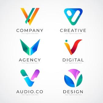 V-logo collectie