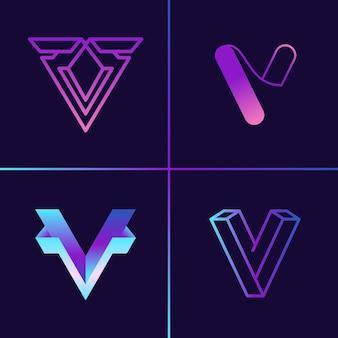 V logo collectie