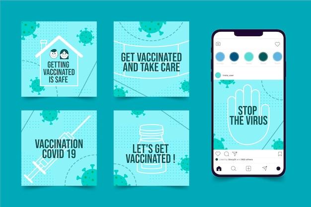 Vaccin instagram postverzameling