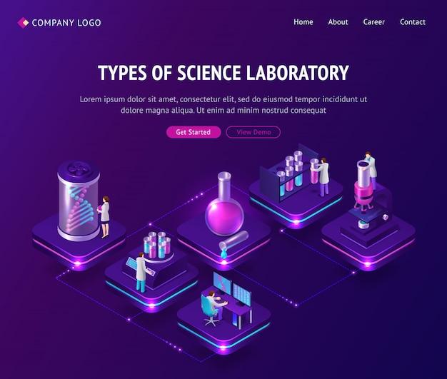 Vaccin ontwikkeling laboratorium isometrische landing