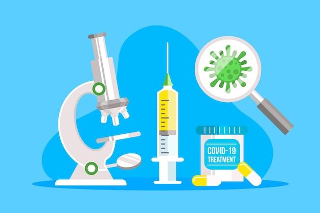 Vaccin ontwikkelingsconcept