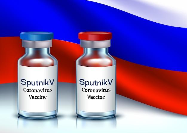 Vaccin tegen coronavirus covid-19 sputnik v.