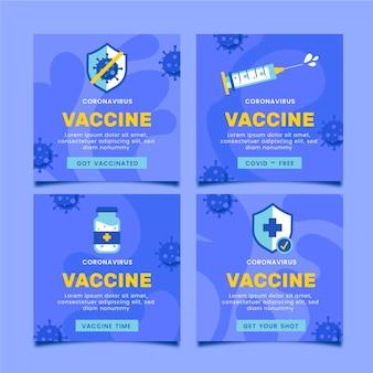 Vaccinatie instagram-berichten