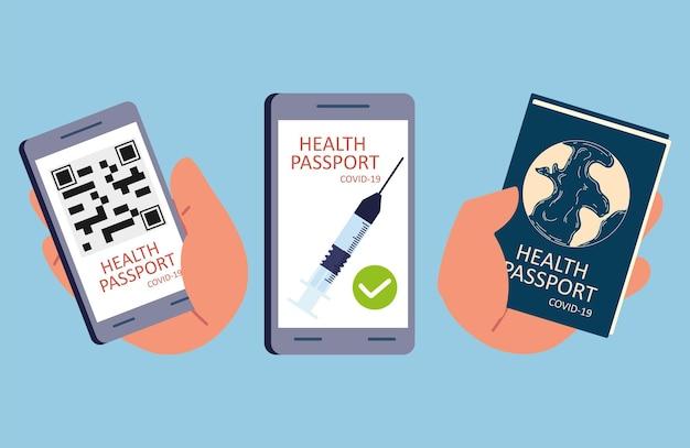 Vaccinatie paspoort covid