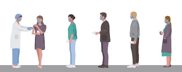 Vaccinatie van volwassenen tegen influenza coronavirus voor immuniteitspaspoort