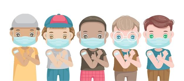 Vaccinaties voor kleine meisjes