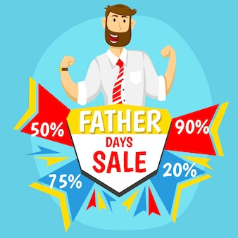 Vaderdag koop met karakter