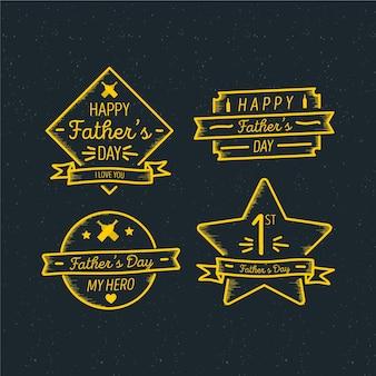 Vaderdag label collectie
