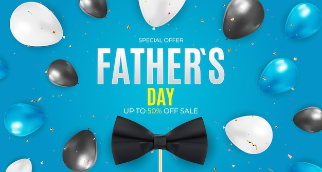 Vaderdag verkoop achtergrond poster