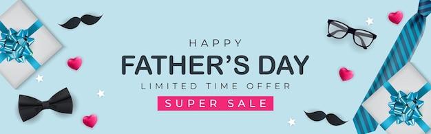 Vaderdag verkoopbanner