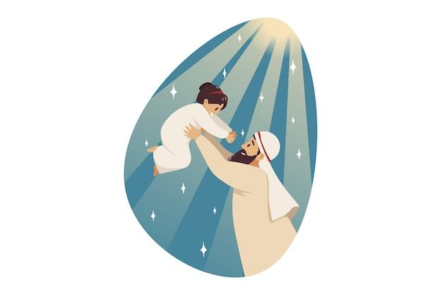 Vaderschap illustratie