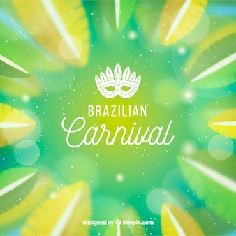 Vage braziliaanse carnaval-achtergrond