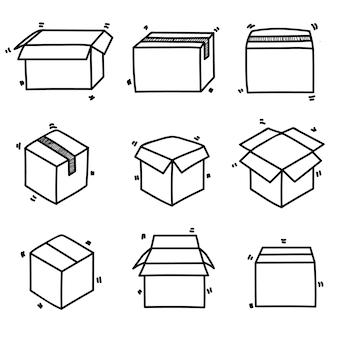 Vak pictogram doodle