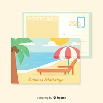 Vakantie ansichtkaart