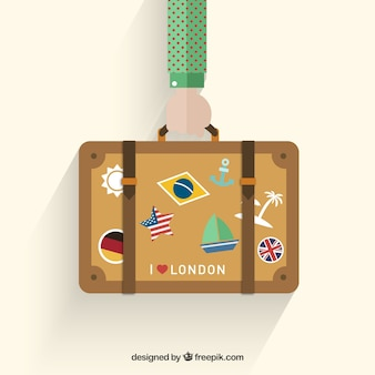 Vakantie koffer