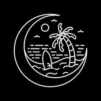 Vakantie op de maan