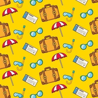 Vakantie patroon