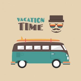 Vakanties achtergrond ontwerp