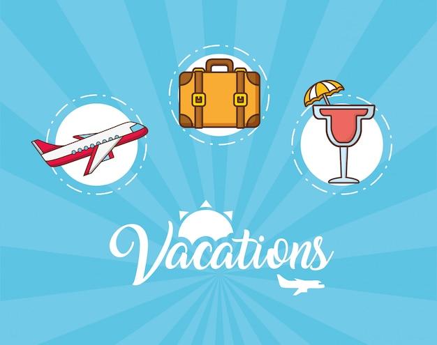 Vakanties elementen