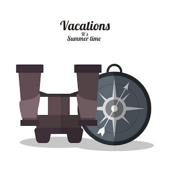 Vakanties zomertijd