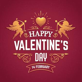 Valentijn achtergrondontwerp