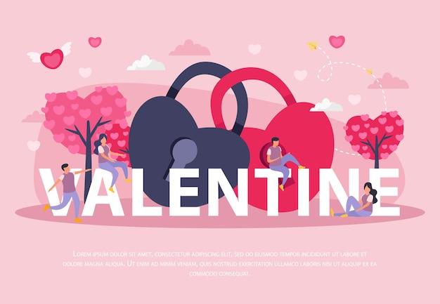 Valentijn banner