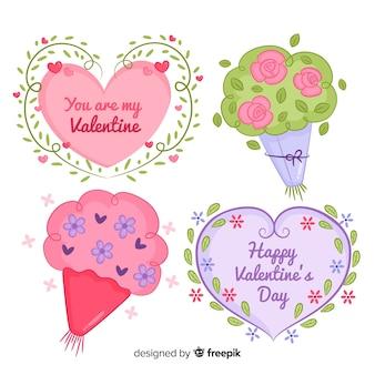 Valentijn bloemen collectie