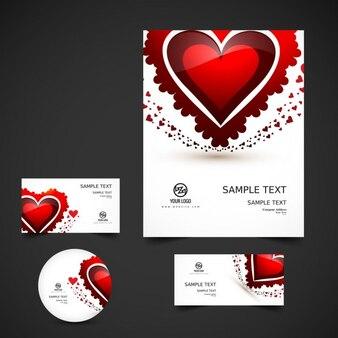 Valentijn briefpapier