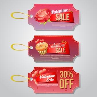Valentijn coupon en tag