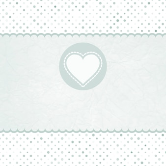 Valentijn kaart met hart.