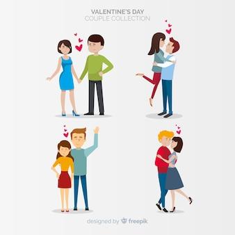 Valentijn paar collectie
