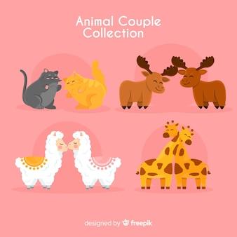 Valentijn paar dierencollectie