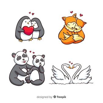 Valentijn paar stel